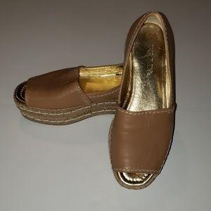 PRADA Napa Espadrille  Sandals size 37